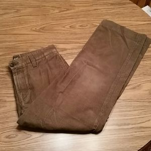 Eddie Bauer relaxed fit Cords, 30x29, brown